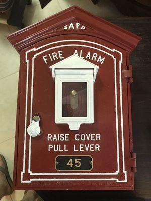 Vintage safa fire alarm box for Sale in Spring, TX