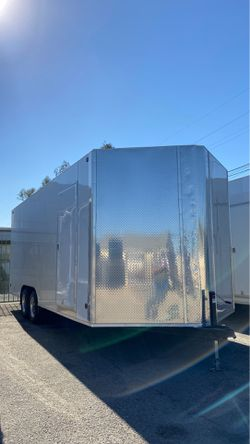 8.5x22x8 ENCLOSED CARGO TRAILER VENDING CONCESSION TRAILER for Sale in Glendale,  CA