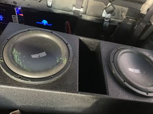 """12"""" inch re in Probox !like new bang hard ! for Sale in San Antonio, TX"""