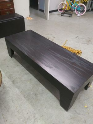 Black coffee table for Sale in Nashville, TN