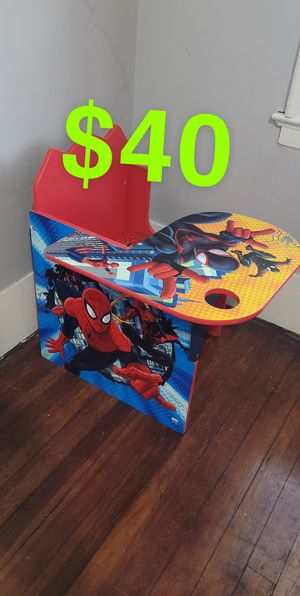 Kids Chair Desk for Sale in Waterbury, CT