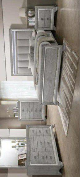 Vail Gray LED Panel Bedroom Set for Sale in Pflugerville, TX