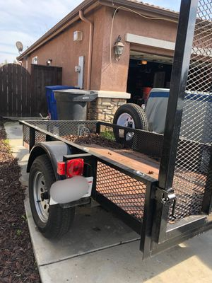 2015 Carson Utility Trailer for Sale in Sanger, CA