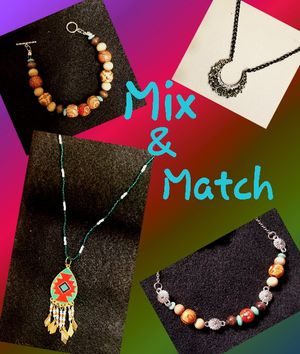 Mix and Match Jewelry-Necklace & Bracelet for Sale in South Jordan, UT