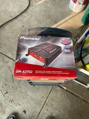 Pioneer amplifier 500 W for Sale in Turlock, CA