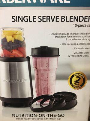 Single serve blender FARBERWARE for Sale in Tampa, FL