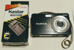 FujiFilm J10 8.2 MP Digital Camera Battery & Charger for Sale in Brevard, NC