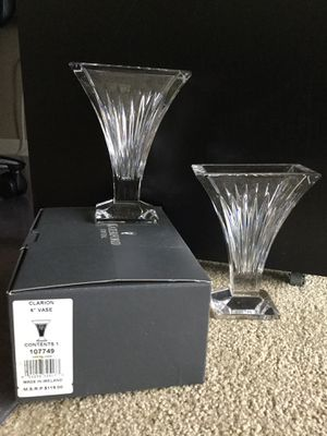 Waterford crystal bud vases for Sale in Auburn, WA