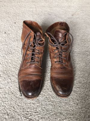 Frye Women's Lace-up Erin Lug Work Boots - size 8 for Sale in Los Angeles, CA