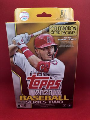 2020 Topps Series 2 Baseball Cards Hanger Box for Sale in Tustin, CA
