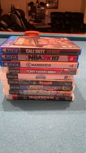 PS3 and PS4 games for Sale in Ipswich, MA
