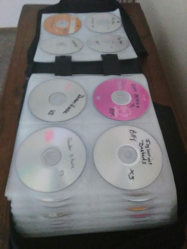 163 burned DVD movies all kinds with case
