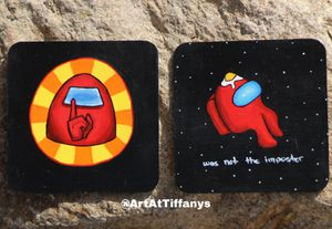 Among Us Acrylic Paintings! for Sale in Las Vegas, NV