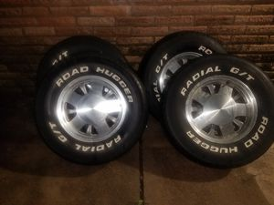 """15"""" GMC 1999 Yukon Wheels and Tires for Sale in Houston, TX"""