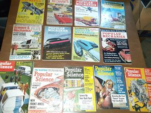 Old Popular mechanics, popular science magazines for Sale in Grandview, MO