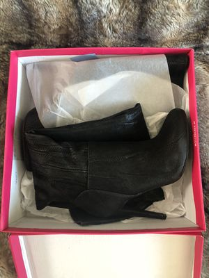 Black Shoedazzle Boots- Size 7.5 for Sale in Brier, WA