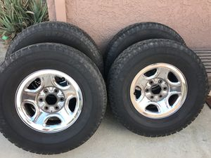 Lt 265/75R16 GMC rims& tires for Sale in Norwalk, CA