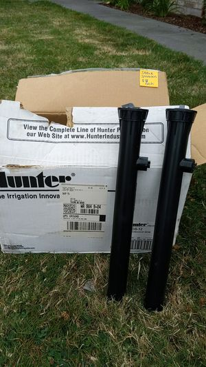 Hunter irrigation tall sprinkers for Sale in Sumner, WA