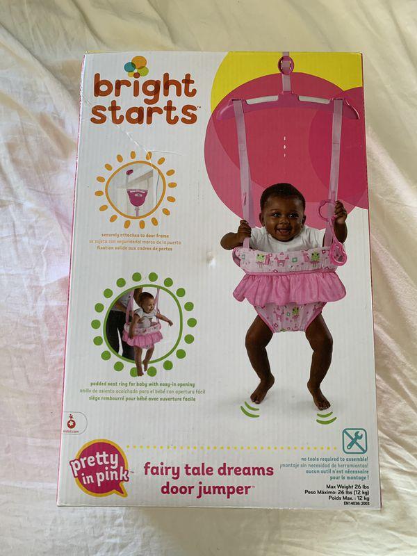 Bright Starts Fairy Tale Dreams Door Jumper