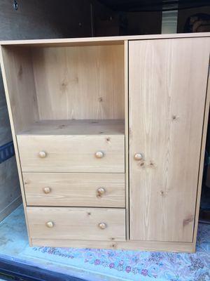 "Nice dresser,Pine Finish,48 1/2""tall,41""long,15""deep,very good clean condition for Sale in Waynesboro, VA"