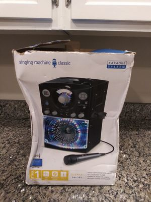 Karaoke Machine with Lights for Sale in Montgomery Village, MD