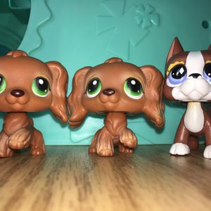 Lps Cocker Spaniels And Greatdane Toy for Sale in Sacramento, CA