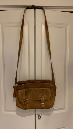 Vintage leather messenger bag for Sale in Bellevue, WA