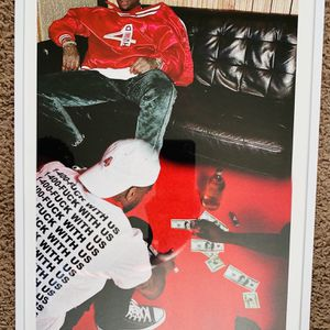 Yg Print And Poster In Glass Frame for Sale in West Covina, CA