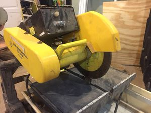 2 HP professional tile saw $150 for Sale in Boston, MA