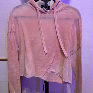 Forever 21 Pink Cropped Hoodie for Sale in San Diego, CA