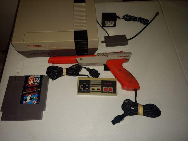 Firm price. Nintendo NES with Mario