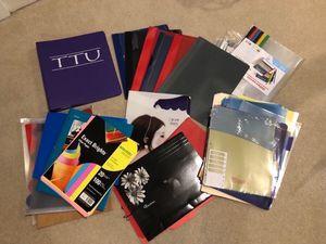Notebook, Report Binders, Folders, Dividers, Etc. for Sale in Smyrna, TN