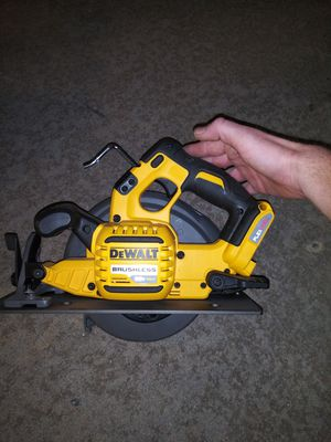 DeWalt brushless 60v circular saw. Tool only. for Sale in Moore, OK