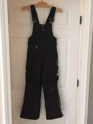 Zero Xposur Black Bib Snow-overall Size small 7/8 for Sale in Chicago, IL
