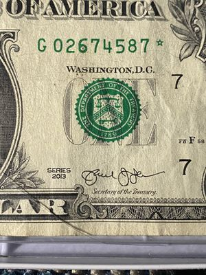 Star note for Sale in Poughkeepsie, NY