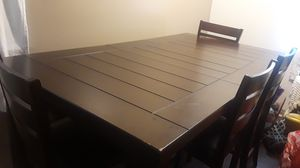 Table w/ 4 chairs and bench for Sale in Riverside, CA