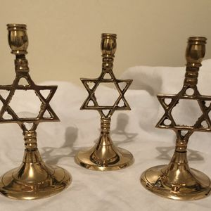 Vintage Jewish Candle Holders for Sale in Reading, PA