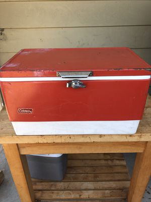 Coleman Vintage Cooler for Sale in Los Angeles, CA