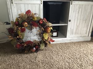 Large Fall Wreath for Sale in Lock Haven, PA
