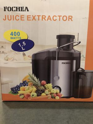 Fochea Juice Extractor 400w for Sale in Chicago, IL
