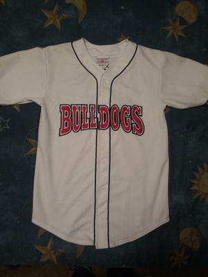 Bulldogs Baseball jersey. Stitched lettering for Sale in Tacoma, WA