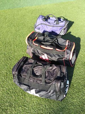 3 Adidas Duffle bags for Sale in Chino, CA