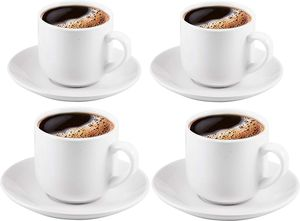 4 espresso cups and saucers set for Sale in Miami, FL