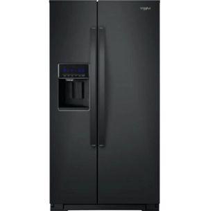 Black Whirlpool refrigerator for Sale in Phoenix, AZ