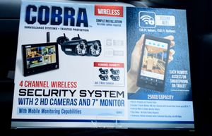 Cobra security system for Sale in Pinellas Park, FL