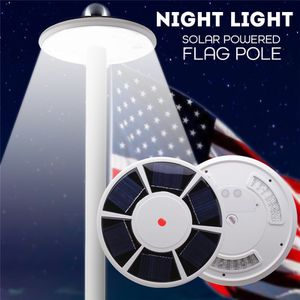 42 LED Waterproof Flag Pole Light Outdoor Solar Power Lamp Camping Tent Night Lamp for Sale in Ontario, CA