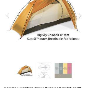 Big Sky International One Person Tent for Sale in Phoenix, AZ