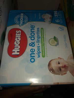 Huggies baby wipes for Sale in Wilsonville, OR