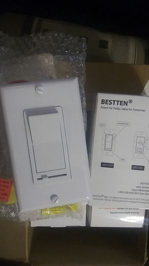 Bestten light switches with dimmer for Sale in Walnut Creek, CA