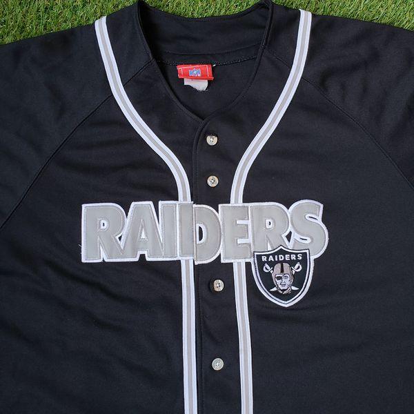 RARE Vintage Raiders Jersey L